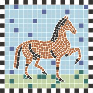 Mosaik - Glassteine