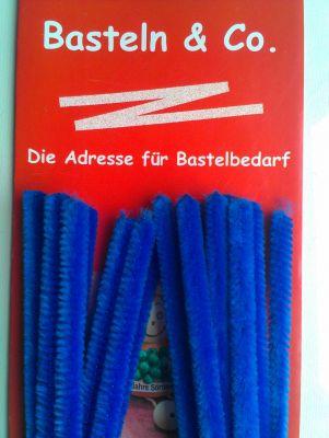 Pfeifenputzer blau