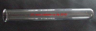 Reagenzglas - 12 cm - mit Rand