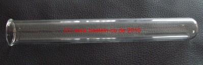 Reagenzglas - 20 cm - mit Rand