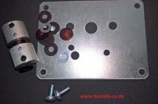 Befestigungsset Stahl für Mörz-Pyramidenmotor