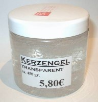 Kerzengel, transparent, 450g
