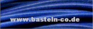 Lederrundriemen Königsblau