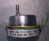 Pyramidenmotor Mörz  - belastbar bis 0,5 kg, 3U/min