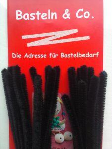Pfeifenputzer schwarz