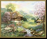 Malen nach Zahlen - Der Frühling