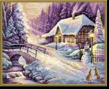 Malen nach Zahlen - Der Winter