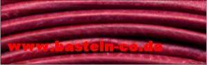 Lederrundriemen Fuchsia