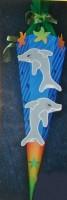 Schultüte Delphin 2