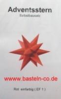 Marienberger Stern - Rot
