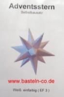 Marienberger Stern - Weiß