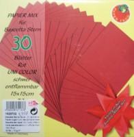 Papiermix für Bascetta Stern - Rot