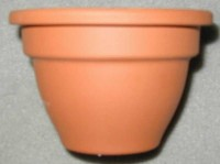 Terracotta Glockentopf 11 cm