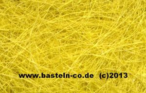 Sisal Naturfasern - gelb