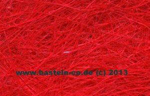 Sisal Naturfasern - rot