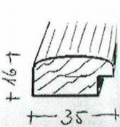 Bilderrahmen-Leistensatz -    30 x 30 cm