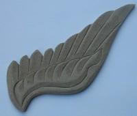 Holzornament  Flügel, rechts