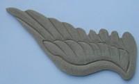 Holzornament  Flügel, links